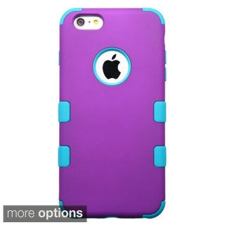 INSTEN Dual Layer Hybrid Rubberized Hard Plastic PC/ Silicone Phone Case Cover For Apple iPhone 6 Plus