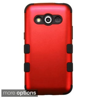 INSTEN Dual Layer Hybrid Rubberized Hard Plastic PC/ Silicone Phone Case Cover For Samsung Galaxy Avant