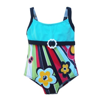 Azul Swimwear Girls' 'Rockin Retro' Infant One Piece