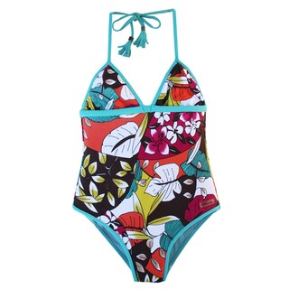Azul Swimwear Girls' 'Survivor Chic' One Piece