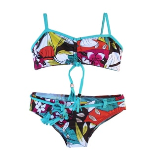 Azul Swimwear Girls' 'Survivor Chic' Bandeau Bikini
