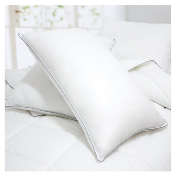 cheer collection down alternative pillows set of 2 or 4
