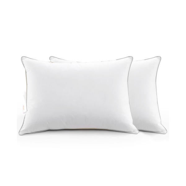 Cheer Collection Down Alternative Pillows (Set of 2 or 4) - White. Opens flyout.