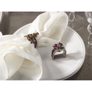 Christmas Design Napkin Ring - set of 4|https://ak1.ostkcdn.com/images/products/9683324/P16861935.jpg?impolicy=medium
