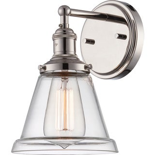"Nuvo Vintage 1-Light 6"" Wall Sconce"