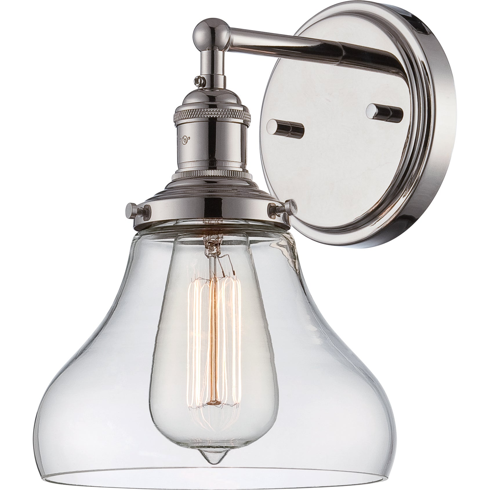 Nuvo vintage 1 light 7 inch wall sconce free shipping today advertisement amipublicfo Image collections