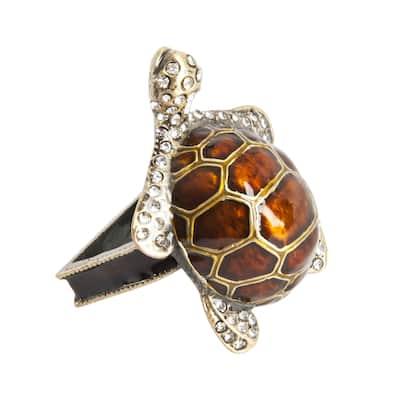 Turtle Napkin Ring - set of 4