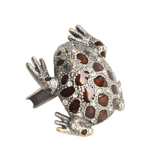 Frog Napkin Ring - set of 4