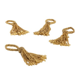Beaded Tassel or Napkin Ring (set of 4)