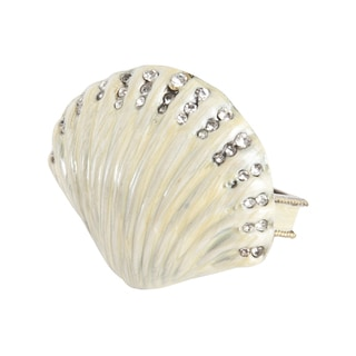 Scallop Shell Napkin Ring - set of 4