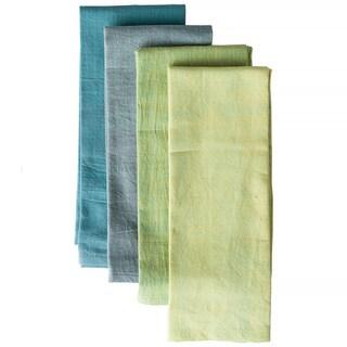 Handwoven English Morning Cotton Napkins (Set of 4) (India)