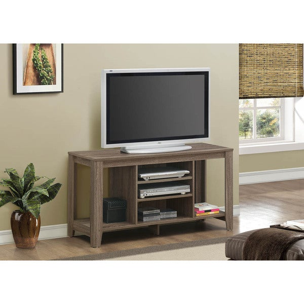 Dark Taupe Reclaimed-look TV Console