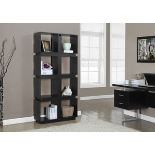 Cappuccino Brown Hollow Core 71-inch Bookcase