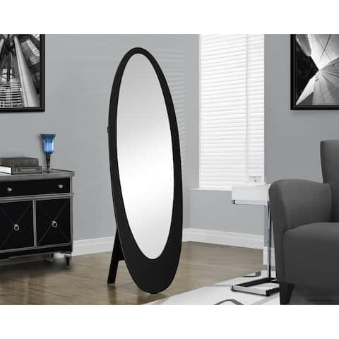 Carson Carrington Somero Black Oval Mirror
