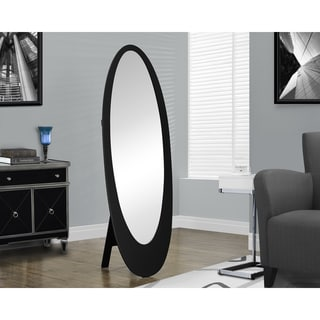 Carson Carrington Somero Black Oval Mirror