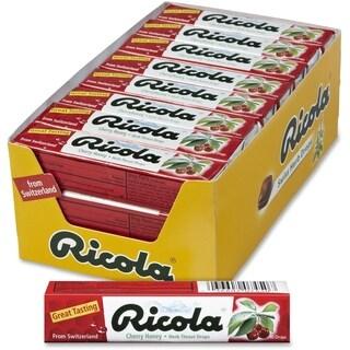 Ricola Herb Throat Drops Cherry Honey 24 Count