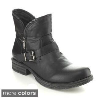 C-Label Women's 'Romo-1' Zipper Trim Riding Boots