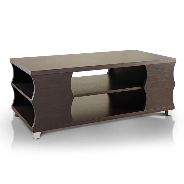Furniture Of America Sydney Modern Espresso Coffee Table