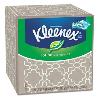 Kleenex Lotion Facial Tissue 2-Ply Sheets 75 Count