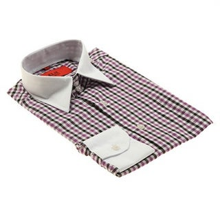 Elie Balleh Brand Men's Collared Style Slim Fit Shirt