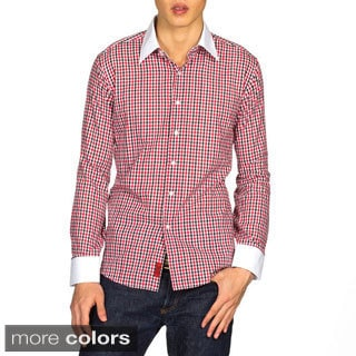 Elie Balleh Brand Men's Collared Style Slim Fit Shirt