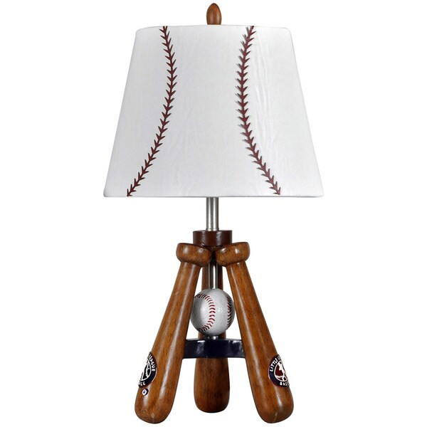 StyleCraft Baseball Theme Bat And Ball Stand Lamp