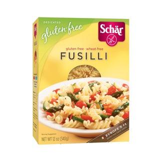 Schar Gluten-free Fusilli Pasta (Case of 6)