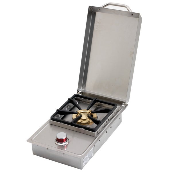 Cal Flame Stainless Steel Built-In Gas Single Side Burner