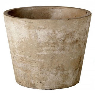 7-inch x 7-inch x 5.5-inch Cement Growers Pot Medium