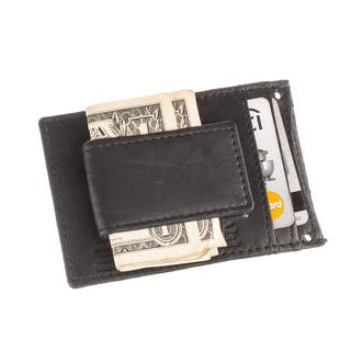 Suvelle W019 Men's Leather Thin Slim Magnetic Money Clip Front Pocket Wallet with with Detachable Neck Strap|https://ak1.ostkcdn.com/images/products/9684058/P16862626.jpg?impolicy=medium