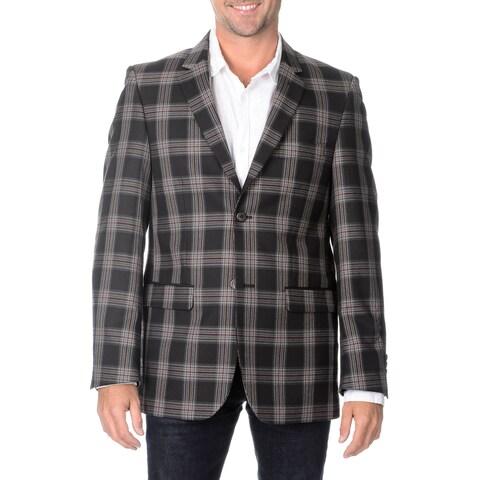 Blu Martini Men's Plaid Sport Coat