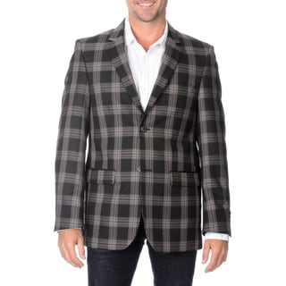 Blu Martini Men's Plaid Sport Coat