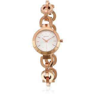 DKNY Women's NY2135 Stanhope Chainlink Rose Goldtone Watch|https://ak1.ostkcdn.com/images/products/9684132/P16862714.jpg?impolicy=medium