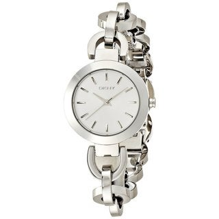 DKNY Women's NY2133 Women's White Stainless Steel Watch
