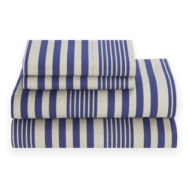Tommy Hilfiger Seaport Stripe Sheet Set