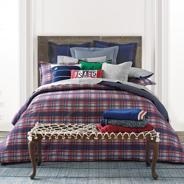 Tommy Hilfiger Stanford Plaid 3-piece Comforter Set