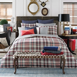 Tommy Hilfiger Vintage Plaid Duvet Cover Set