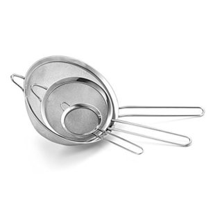 Culina Fine Mesh Stainless Steel Strainers (Set of 3)