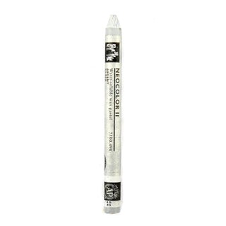 Caran d'Ache Neocolor II Aquarelle Water Soluble Wax Pastels (Pack of 10) (Option: Silver)