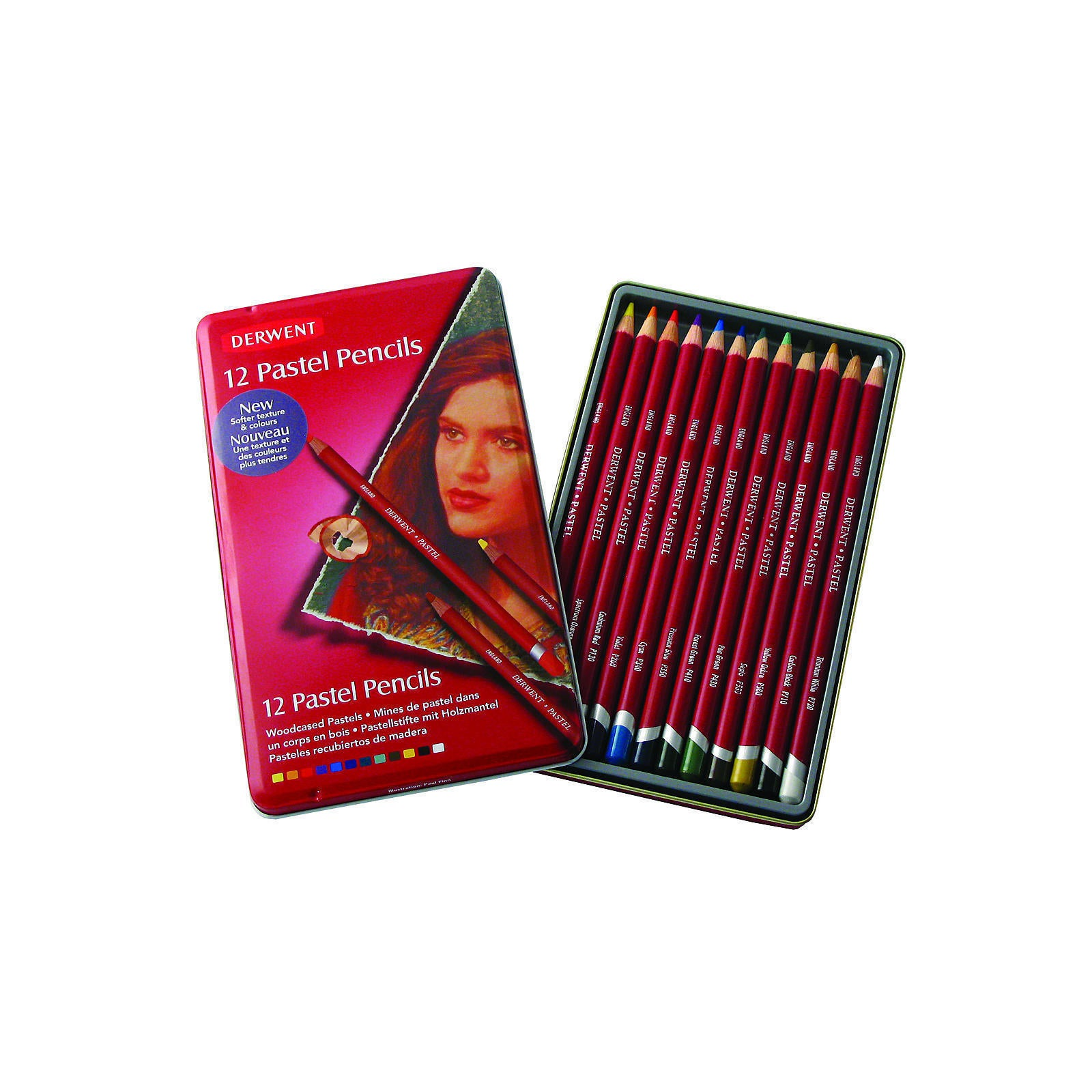 Derwent Pastel Pencil Sets (Set of 12) (set of 12), Multi
