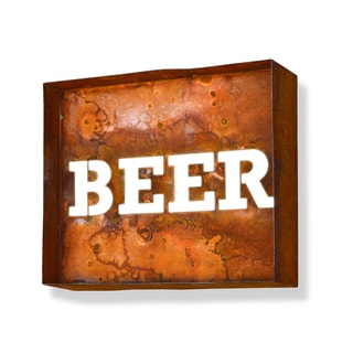 Laser Cut Beer Iconic Marquee Sign