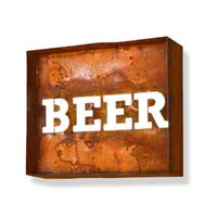 Laser Cut Beer Iconic Profession/Commercial MarqueeSign