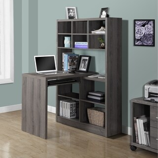 Dark Taupe Reclaimed Look Left/ Right Facing Corner Desk