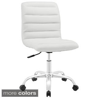 Ripple Mid-back Office Chair (Option: Orange)