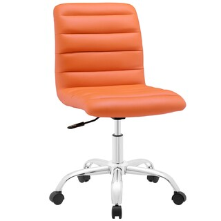 Porch & Den Silver Lake Bancroft Mid-back Office Chair (Option: Orange)