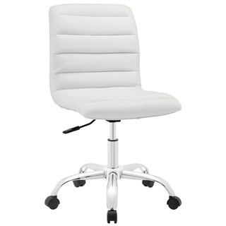 Porch & Den Silver Lake Bancroft Mid-back Office Chair (Option: White)