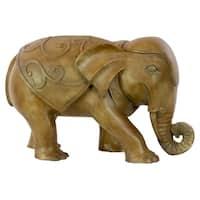 Resin Walking Elephant Statue