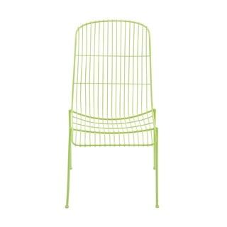 Metal Green Patio Chair