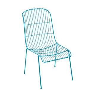 Iron Blue Patio Chair