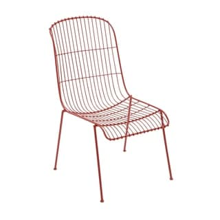 Iron Red Outdoors Chair